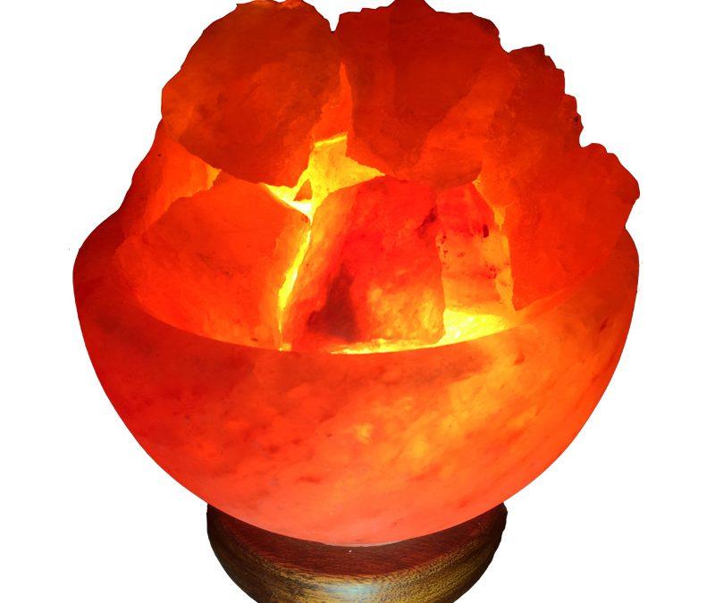 Buy Online Fire Bowl Salt Lamp from Select Salt