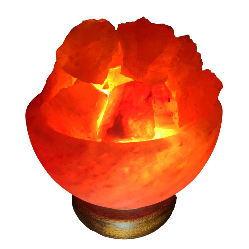 Fire Bowl Salt Lamp (ᴜsᴅ) Image