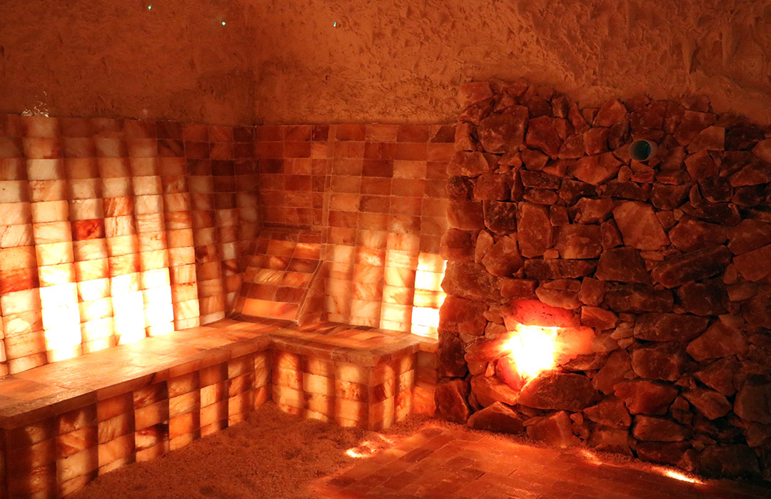 Himalayan Cave In Mentor Salt Cave Construction By