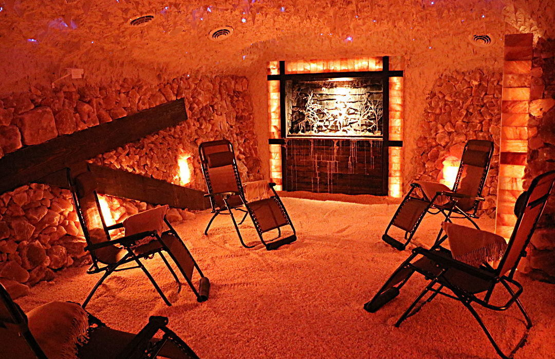 Salt Cave Built By Select Salt; redefining salt cave therapy.