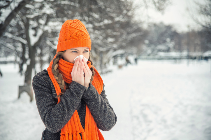 Halotherapy cold and flu season