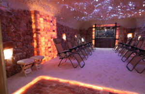 How much does it cost to build a salt cave?