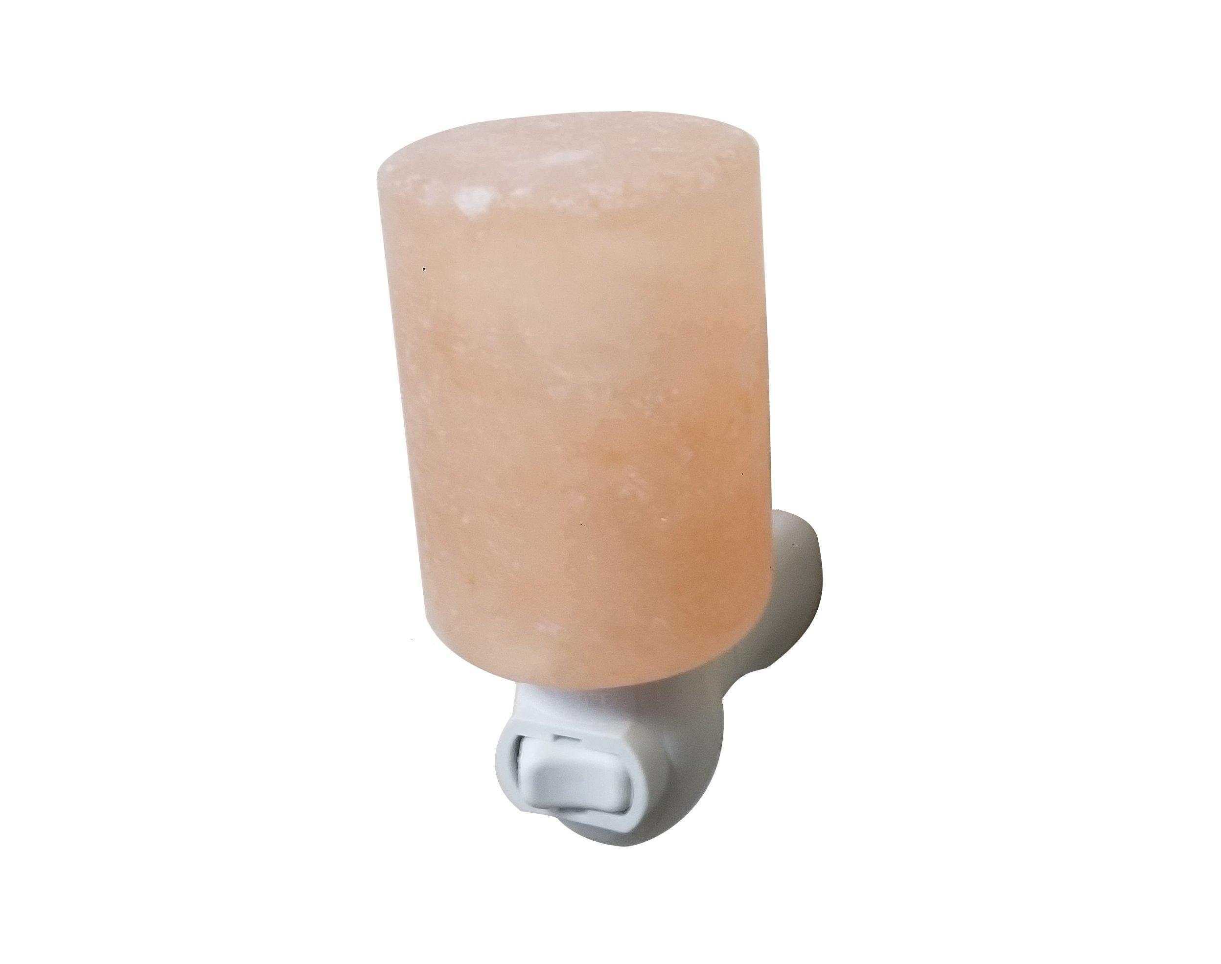Salt Crystal Night Light (Cylinder) Image