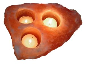 Natural 3 Hole Tea Light (ᴜsᴅ) Image