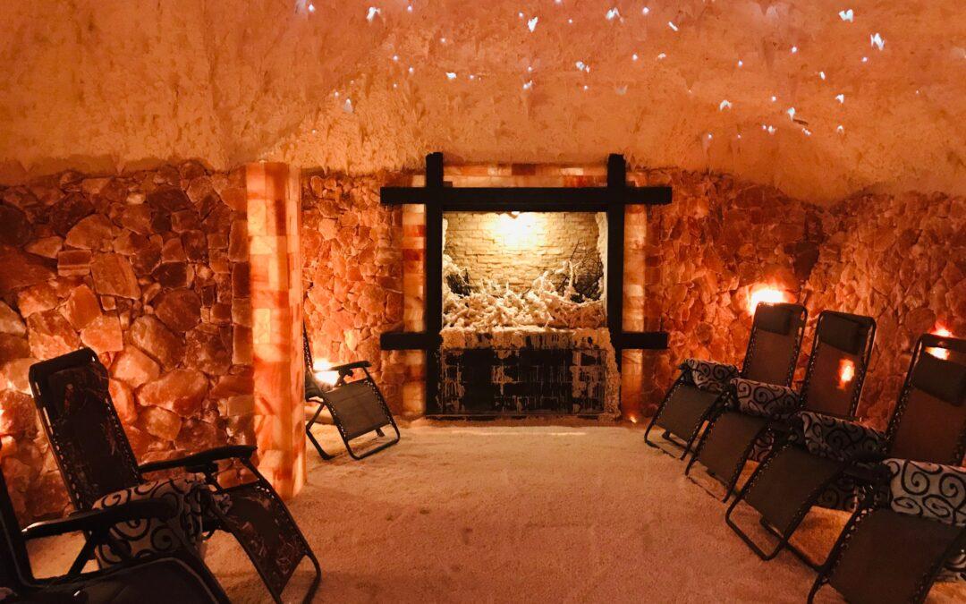 The Salt Cave Water Cascade