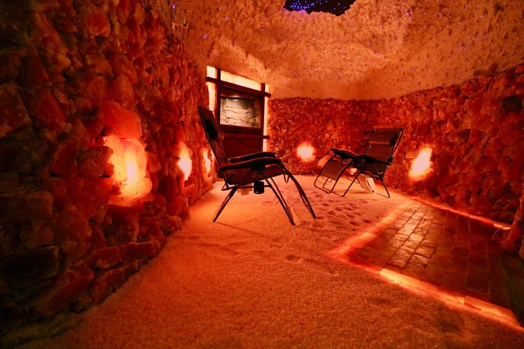 A growing trend in healthcare: salt caves for halotherapy