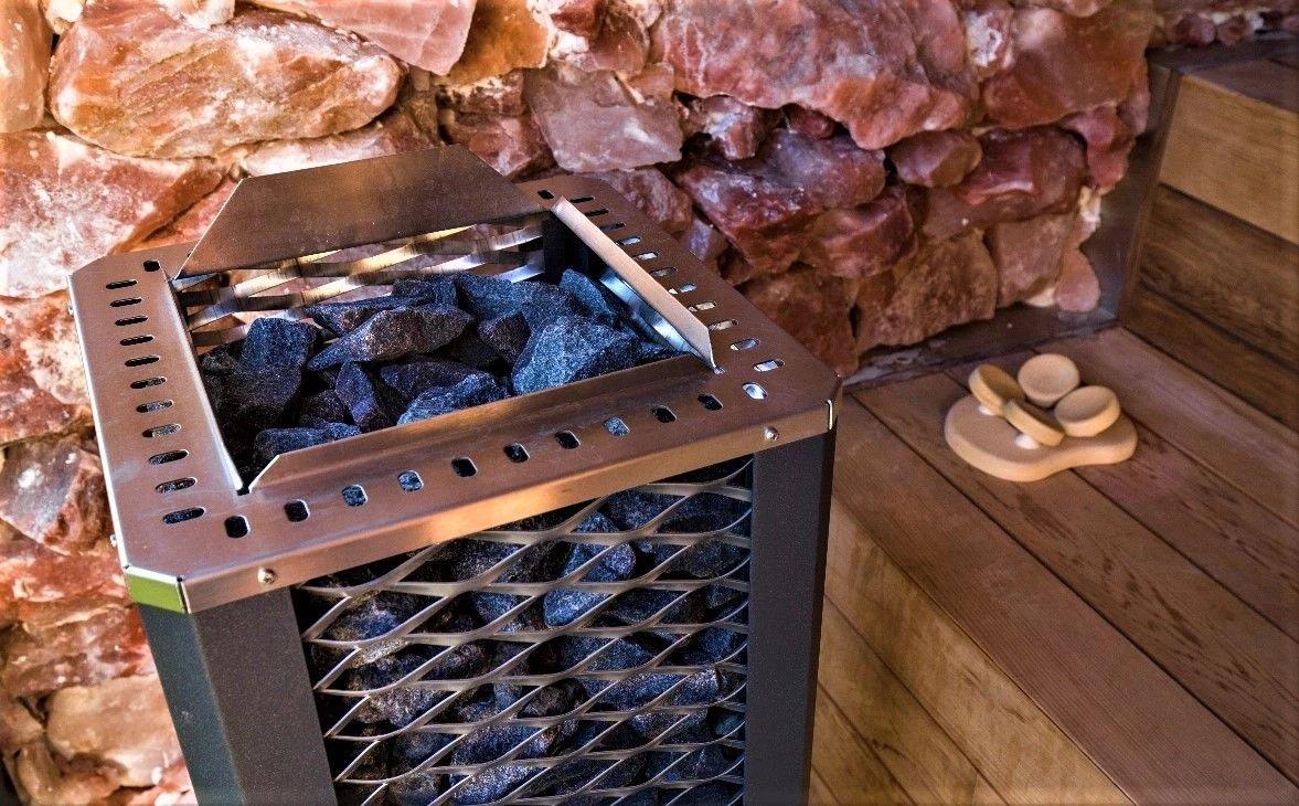 Salt sauna oven